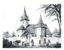 Picturi in creion / carbune Langa Sibiu