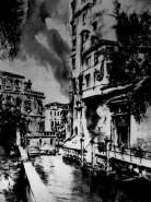 Picturi in creion / carbune Venetia 2