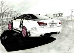 Picturi in creion / carbune Lexus is250