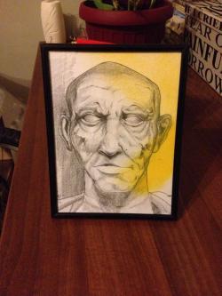 Picturi in creion / carbune The Dude