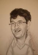 Picturi in creion / carbune Caricatura
