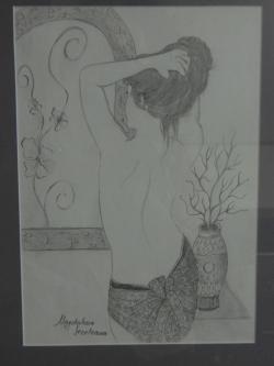 Picturi in creion / carbune Creion 003
