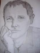 Picturi in creion / carbune Dan puric
