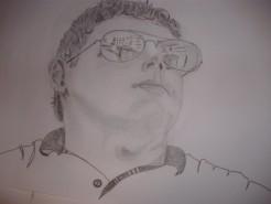 Picturi in creion / carbune Portret