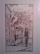Picturi in creion / carbune Musafirul