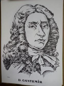Picturi alb negru Dimitrie Cantemir