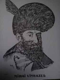 Picturi alb negru Mihai Viteazul