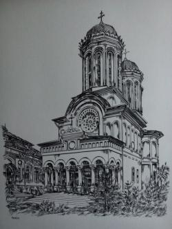 Picturi in creion / carbune Antim