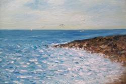 Picturi maritime navale Tarm la mare