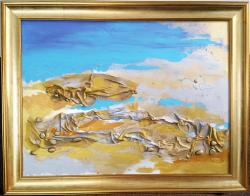 Picturi maritime navale Laguna albastra 2