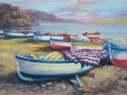 Picturi maritime navale mediteraneana 4