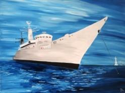 Picturi maritime navale Ferdinand