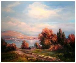 Picturi maritime navale PASTEL MARIN