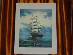 Picturi maritime navale Nina
