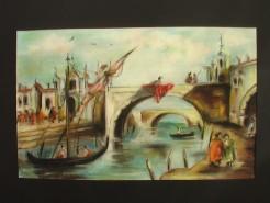 Picturi maritime navale Pastel venetian 3