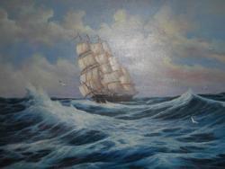 Picturi maritime navale Naufragiatii