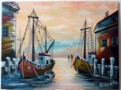 Picturi maritime navale Peisaj maritim