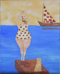 Picturi maritime navale Grace