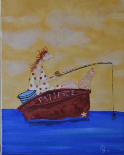 Picturi maritime navale Patience