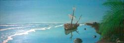 Picturi maritime navale Plaja pustie