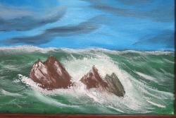 Picturi maritime navale mare tumultoasa