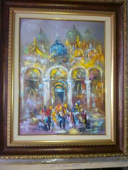 Picturi maritime navale venetia 8