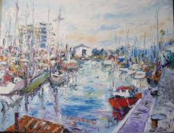 Picturi maritime navale PLYMOUTH BARBICAN
