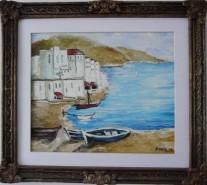Picturi maritime navale Tarm de mare
