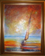 Picturi maritime navale Ma intorc acasa
