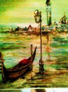 Picturi maritime navale Gondola