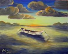 Picturi maritime navale Singura