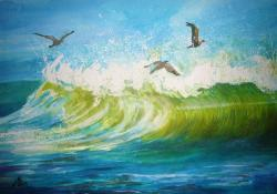 Picturi maritime navale Seascape 4