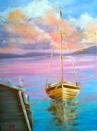 Picturi maritime navale Tranquility