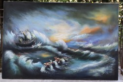 Picturi maritime navale Vis 101