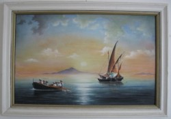 Picturi maritime navale Reproducere 2