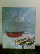 Picturi maritime navale Plaja