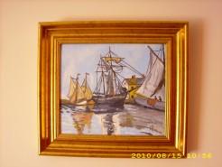 Picturi maritime navale Port