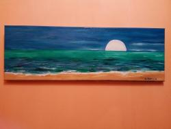 Picturi maritime navale Green ocean