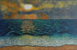 Picturi maritime navale Dimineata Magica