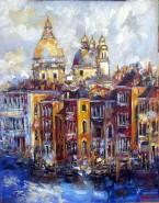 Picturi maritime navale Venetia- santa maria della salute