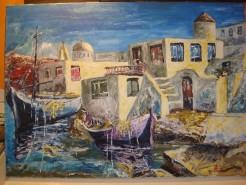 Picturi maritime navale Grecia