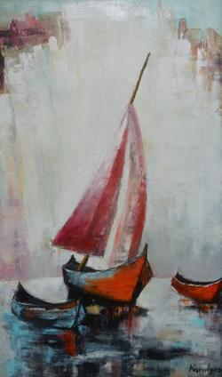 Picturi maritime navale Barci 1