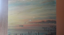 Picturi maritime navale Vechiul istanbul