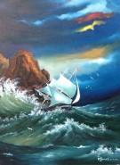 Picturi maritime navale Maritima 4
