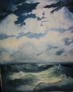 Picturi maritime navale Linistea dupa furtuna