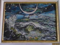 Picturi maritime navale eclipsa pe mare