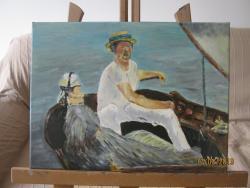 Picturi maritime navale Plimbare cu barca