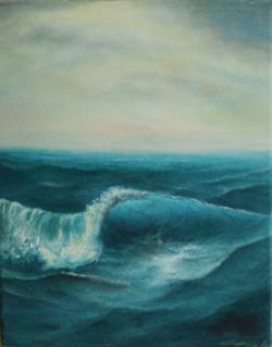 Picturi maritime navale val rebel