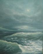 Picturi maritime navale Valuri 11