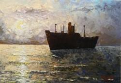 Picturi maritime navale Costinesti
